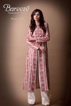 Latest Bareeze Ready made dresses Winter Collection for Women Fashion Dresses for Women Fa by Pakistan Fashion Magazine Latest Pakistani Fashion, Pakistani Outfits, Ethnic Fashion, Asian Fashion, Indian Outfits, Versace, Desi Clothes, Asian Clothes, Pakistan Fashion