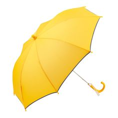 Children's Safety Umbrella | Reflecting Piping | Yellow by   Le Monde du Parapluieon @ POP♥🌸♥