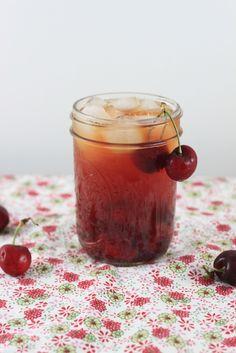 Spiked Cherry Iced Tea