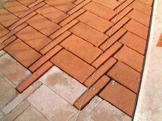 Brick Paving Pattern at Casa Uriach by Emili Sánchez