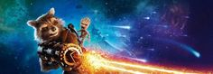 Guardians of the Galaxy Vol 2 character banners. 3 of 4