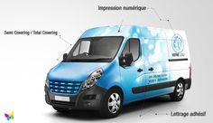 Marquage Véhicule Sandwich Packaging, Car Wrap, Recreational Vehicles, Wrapping, Vans, Deco, Athlete, Automobile, Handball