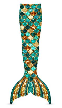 When only the finest will do! Introducing the Mermaid Glitter Sparkles Tail. Made for mermaid royalty and available now for a limited time, from Swimtails