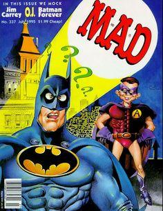 MAD Magazine - July 1995.