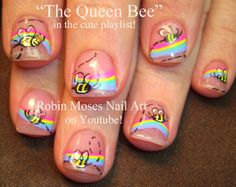 Nail-art by Robin Moses in the cute playlist!