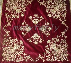 wedding decor for bridal for your house velvet by Istanbulcolors, $1,100.00