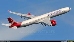 Virgin Atlantic G-VRED aircraft at London - Heathrow photo