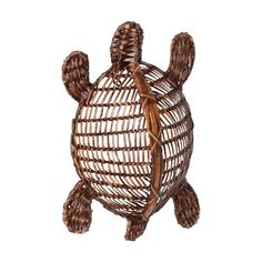 Wicker Sea Turtle decor