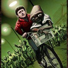 ET Escapes The Zombie Apocalypse!.