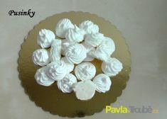 Sněhové pusinky Pavlova, Cake, Floral, Desserts, Food, Tailgate Desserts, Deserts, Kuchen, Flowers