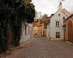 Nový Svět - one of the calmest nooks of Prague, Czechia
