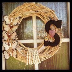 Wreath ilove the pearls