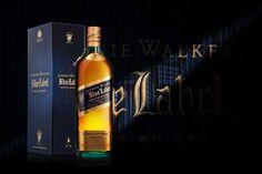 Johnnie Walker Blue shot by 8183 Studio. Kansas City, MO