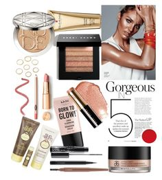 """Summer Glow☀"" by sindhunaga4 on Polyvore featuring beauty, Bobbi Brown Cosmetics, NYX, Elizabeth Arden, Christian Dior, Sun Bum, MAC Cosmetics and Arbonne"