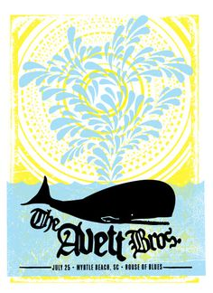 the avett brothers | concert poster