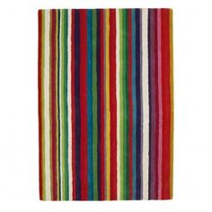 Ikea Strib Rug Carpet Rainbow Room Large Rugs Striped