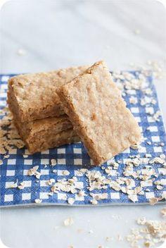 Brown Butter Oatmeal Shortbread Cookies