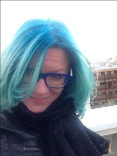 Hair bluehair blue