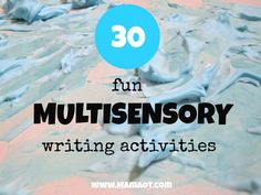Multisensory activities are a helpful and FUN way to help kids learn to write their letters! Check out these creative ideas. Motor Activities, Sensory Activities, Therapy Activities, Sensory Play, Calming Activities, Multi Sensory, Pediatric Occupational Therapy, Pediatric Ot, Pre Writing