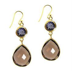 Earrings by Sushilla / Semi Precious Jewellery