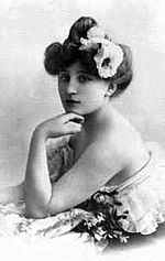 was the surname of the French novelist and performer Sidonie-Gabrielle Colette (28 January 1873 – 3 August 1954). She is best known for her novel Gigi, upon which Lerner and Loewe based the stage and film musical comedies of the same title. Lovers: Eyre de Lanux,  Natalie Clifford Barney,  Mathilde de Morny, Marquise de Belbeuf,