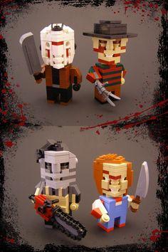 Lego Slashers - http://www.dravenstales.ch/lego-slashers/