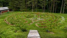 the labyrinth meditation garden