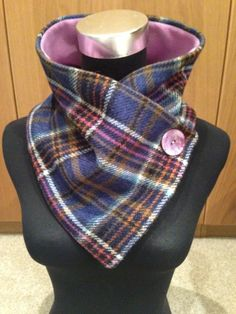 Pure new wool structured scarf £18.00