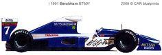 1991 Brabham Yamaha V12 BT60Y