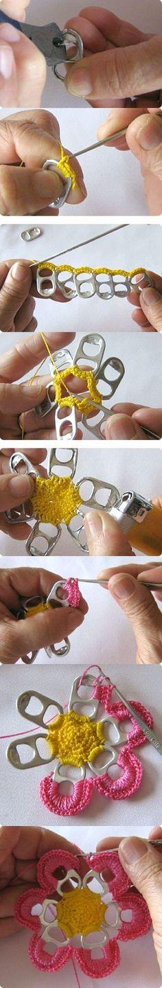 Creatief met bliklipjes. http://instant-communicatie.nl/over-ons/blik-op-blikken