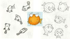 Puffer Fish by Emily Trotter Illustration