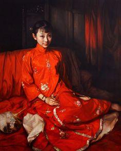 """Beautiful Life"" -- by Zhao Kailin (b.1961, Chinese-American)"