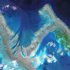 Great Barrier Reef in Australie  - © Digital Globe