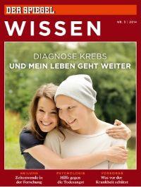 Das neue 'Spiegel Wissen'-Heft widmet sich dem Thema 'Diagnose Krebs'. Das Magazin mit der Unterzeile 'und mein Leben geht weiter'