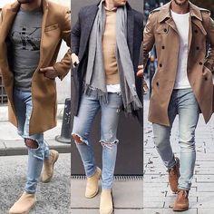Grey and beige