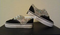 Custom Bling Vans Adult and Toddler Sizes Avail by DaedreamDesigns on Wanelo