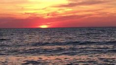 Sunset at Presque Isle State Park, Erie PA