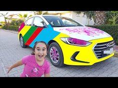 BABAMIN dudaklarına RUJ SÜRDÜM - Kadına benzedi, ÇOK KÖTÜ EŞEK ŞAKASI - Learn Colors With - YouTube