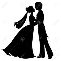 wedding silhouette images - Google Search