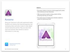 5 Ways to Use Augmented Reality app Aurasma in Your Class via EdTech&MobileLearning |