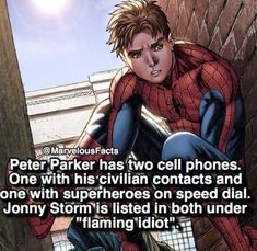 We all love Marvel. Iron man is our favorite super hero. But do you know some amazing facts about Marvel ? Marvel Comics, Marvel Jokes, Ms Marvel, Marvel Girls, Math Comics, Marvel Facts, Funny Marvel Memes, Dc Memes, Marvel Comic Books