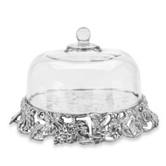 Arthur Court Designs Grape Cake Tray with Glass Dome - BedBathandBeyond.com $195.00
