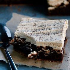 Baileys Irish Cream Brownies | ButtercreamBlondie.com