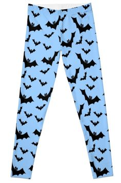 Pastel Goth Vampire Bats (Blue / Black) by PastelGoth