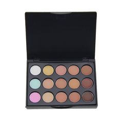 New 15 Colors Concealer Palette Make Up Cream Camouflage Foundation Cosmetic Palettes ETS88