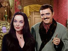 The Addams Family : Morticia & Gomez