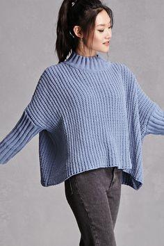 Oversized Drape Sweater