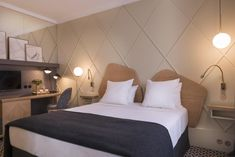 Millésime Hôtel, Paris – Updated 2021 Prices Parisienne Chic, Small Boutique Hotels, Contemporary Home Furniture, Hotel Paris, Comfy Bed, Top Interior Designers, Home Decor Trends, Best Interior, Decoration