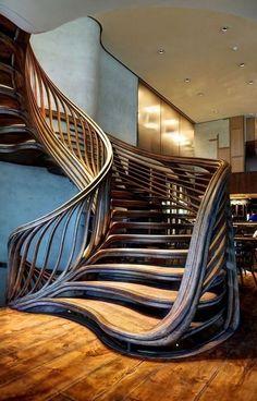 Stairs architecture design stairways 23 Ideas for 2019 Escalier Art, Escalier Design, Architecture Design, Beautiful Architecture, Computer Architecture, Architecture Colleges, Enterprise Architecture, Stairs Architecture, Resume Architecture