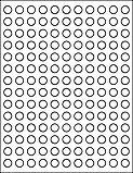 "OL32 0.5"" Circle Half Inch Round Labels"